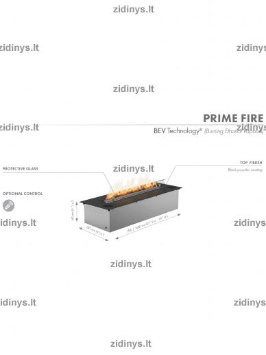 'Biožidinio degiklis PLANIKA Prime Fire 700 6