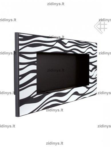 Biožidinys KRATKI Delta 2 /Juodas/Zebra 2