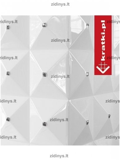 Biožidinys KRATKI EGZUL /SWAROVSKI /Baltas blizgus 2