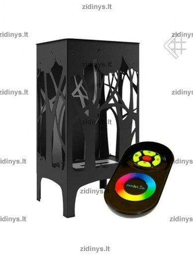 Biožidinys KRATKI Foxtrot /Juodas/LED