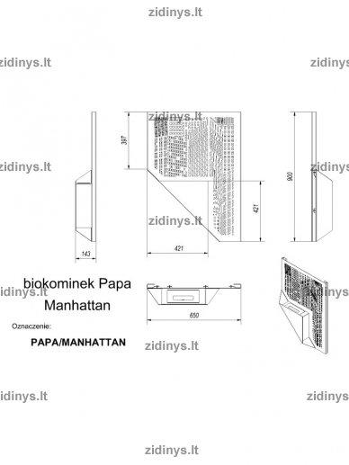 Biožidinys KRATKI Papa /Manhattan 4