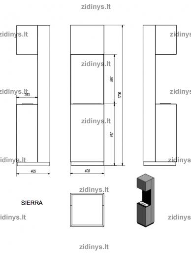 Biožidinys KRATKI Sierra 4