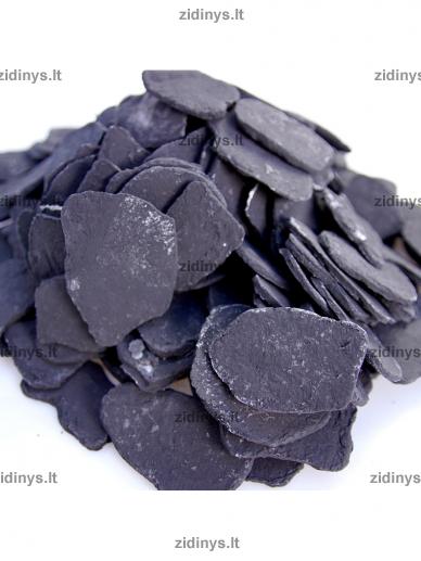 Dekoratyvinė anglių imitacija juoda KRATKI 2