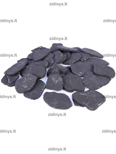 Dekoratyvinė anglių imitacija juoda KRATKI