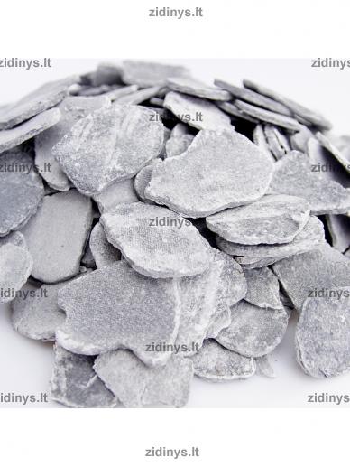 Dekoratyvinė anglių imitacija pilka KRATKI 2