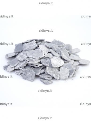Dekoratyvinė anglių imitacija pilka KRATKI