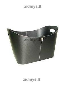 Dirbtinės odos malkų krepšys ADURO Firewood Basket