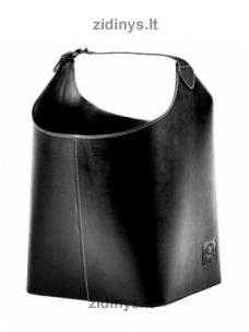 Dirbtinės odos malkų krepšys C1