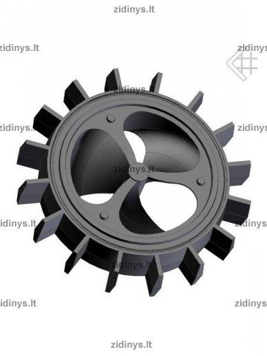 Dūmtraukio akumuliaciniai žiedai KRATKI A/Z5 3