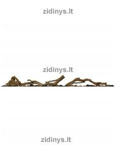 Elektrinių židinių DIMPLEX dekoratyvinių malkų rinkinys 50