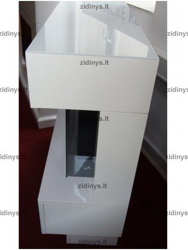 Elektrinis židinys DIMPLEX Avalone eco LED Baltas 4