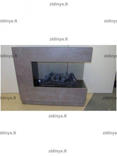 Elektrinis židinys DIMPLEX Opti-myst ZEN beton 2