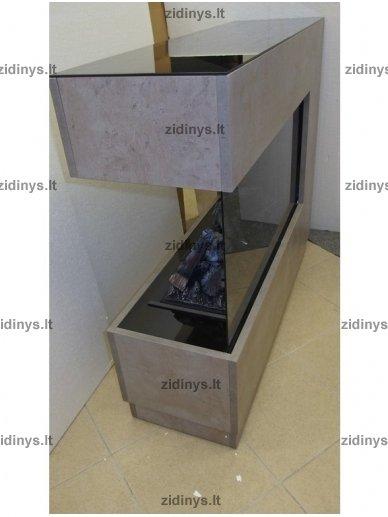 Elektrinis židinys DIMPLEX Opti-myst ZEN beton 3