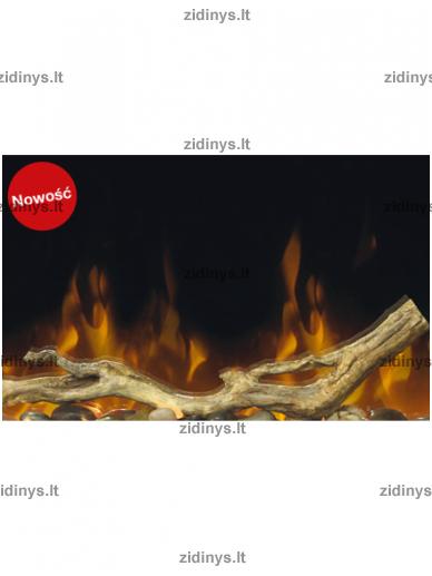 Elektrinių židinių DIMPLEX dekoratyvinių malkų rinkinys 50 2
