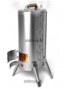 Kelioninė rūkykla - krosnelė TMF Duplet R