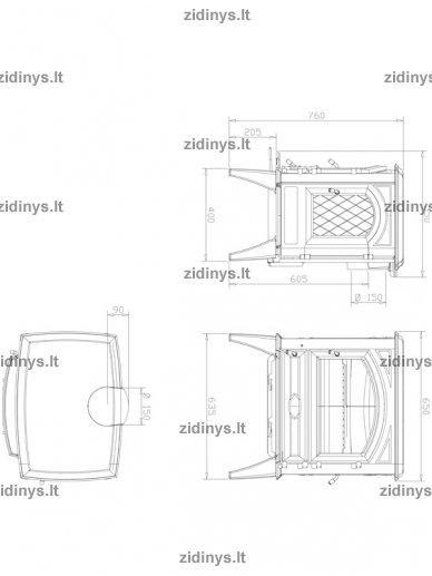 Krosnelė DOVRE 640CB 2