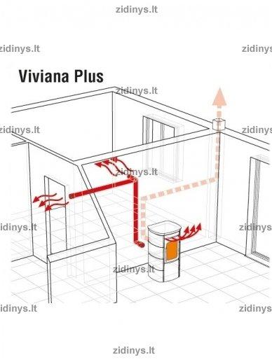 Krosnelė Extraflame Viviana Plus 5