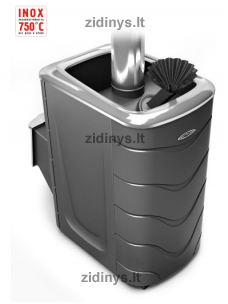 Pirties krosnelė TERMOFOR Geyzer 2014 Inox DN ZK