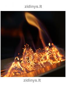 Žarijų imitacijos plaušas KRATKI Glow Flame