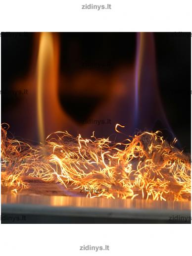 Žarijų imitacijos plaušas KRATKI Glow Flame 3