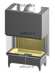 Židinio ugniakuras SPARTHERM Arte 3RLh-100h-4S