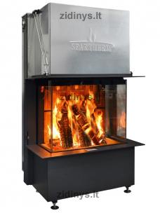 Židinio ugniakuras SPARTHERM Premium A-3RL-80h ø 200 mm